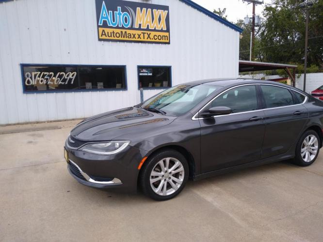 2015 CHRYSLER 200 PASSENGER CAR