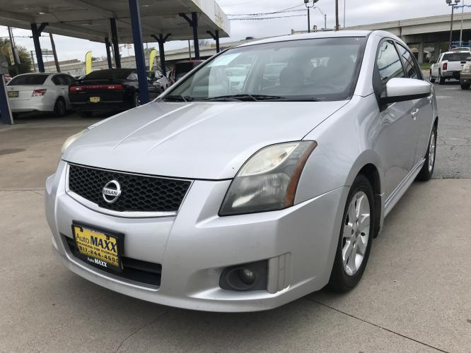 2011 SILVER NISSAN SENTRA (3N1AB6AP6BL) with an L4, 2.0L engine, located at 5605 Crowley Road, Fort Worth, TX, 76134, (817) 989-9255, 36.148457, -115.048225 - Photo #0