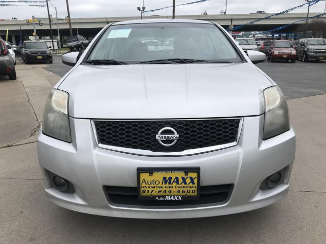 2011 SILVER NISSAN SENTRA (3N1AB6AP6BL) with an L4, 2.0L engine, located at 5605 Crowley Road, Fort Worth, TX, 76134, (817) 989-9255, 36.148457, -115.048225 - Photo #1