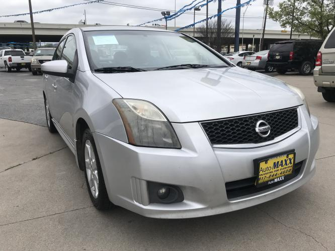 2011 SILVER NISSAN SENTRA (3N1AB6AP6BL) with an L4, 2.0L engine, located at 5605 Crowley Road, Fort Worth, TX, 76134, (817) 989-9255, 36.148457, -115.048225 - Photo #2