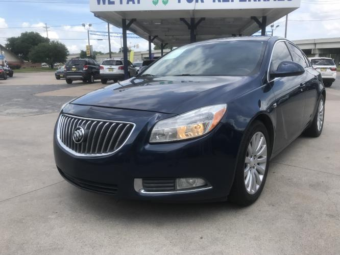 2011 BLUE BUICK REGAL (W04GR5EC3B1) with an L4, 2.4L; DOHC; VVT engine, located at 5605 Crowley Road, Fort Worth, TX, 76134, (817) 989-9255, 36.148457, -115.048225 - Photo #0