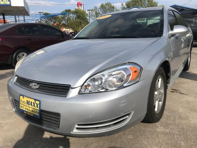 2010 SILVER CHEVROLET IMPALA (2G1WB5EN5A1) with an V6, 3.5L; SFI engine, located at 5605 Crowley Road, Fort Worth, TX, 76134, (817) 989-9255, 36.148457, -115.048225 - Photo #0