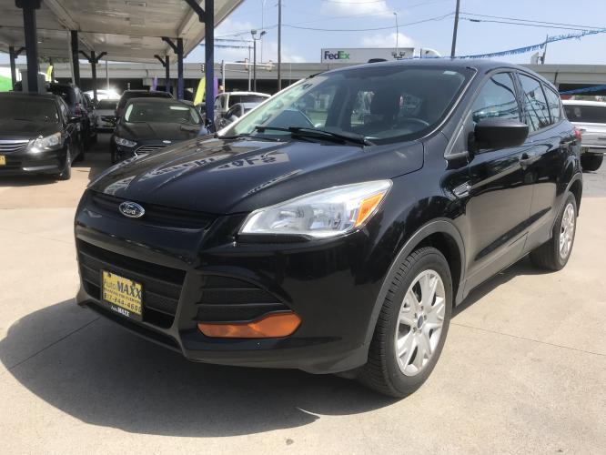 2013 BLACK FORD ESCAPE (1FMCU0F76DU) with an L4, 2.5L engine, located at 5605 Crowley Road, Fort Worth, TX, 76134, (817) 989-9255, 36.148457, -115.048225 - Photo #0