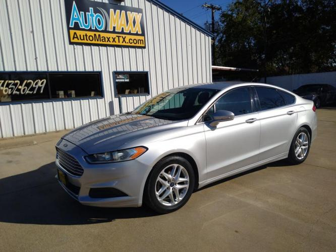 2013 SILVER FORD FUSION (3FA6P0H76DR) with an L4, 2.5L engine, located at 2529 Hemphill St, Fort Worth, TX, 76110, (817) 989-9261, 32.714649, -97.331169 - Photo #0