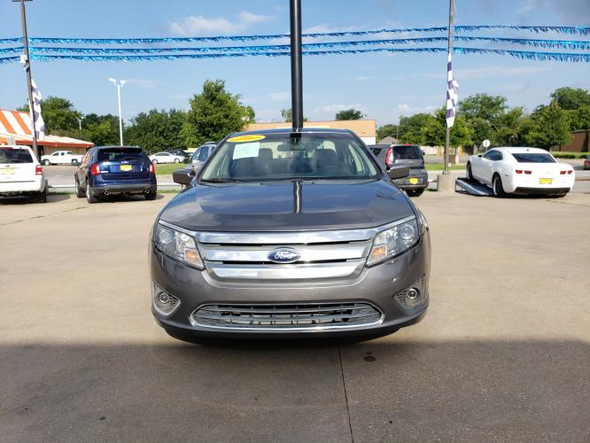 2012 GRAY FORD FUSION (3FAHP07198R) with an V6, 3.0L engine, located at 5605 Crowley Road, Fort Worth, TX, 76134, (817) 989-9255, 36.148457, -115.048225 - Photo #1