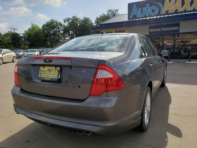 2012 GRAY FORD FUSION (3FAHP07198R) with an V6, 3.0L engine, located at 5605 Crowley Road, Fort Worth, TX, 76134, (817) 989-9255, 36.148457, -115.048225 - Photo #3