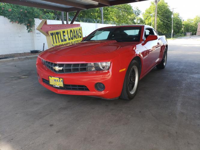 2012 RED CHEVROLET CAMARO (2G1FA1E39C9) with an V6, 3.6L; FFV; DOHC engine, 6 SPEED AUTOMATIC transmission, located at 5605 Crowley Road, Fort Worth, TX, 76134, (817) 989-9255, 36.148457, -115.048225 - Photo #0