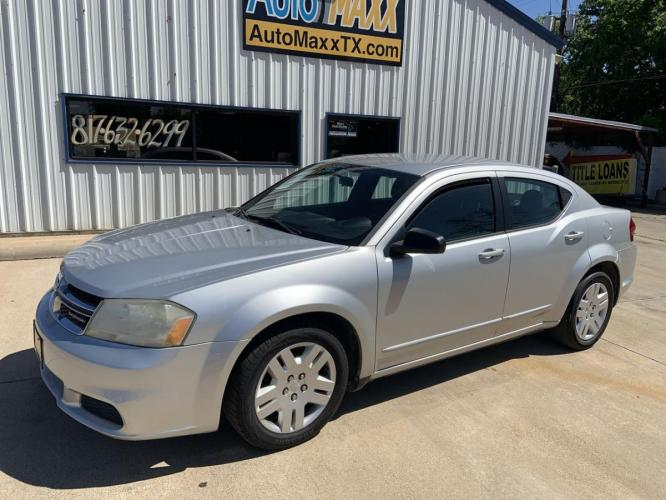 2011 SILVER DODGE AVENGER (1B3BD4FG9BN) with an V6, 3.6L; FFV engine, located at 5605 Crowley Road, Fort Worth, TX, 76134, (817) 989-9255, 36.148457, -115.048225 - Photo #0