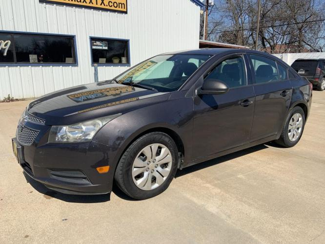 2014 GRAY CHEVROLET CRUZE (1G1PA5SH1E7) with an L4, 1.8L; FFV; DOHC engine, 6 SPEED AUTOMATIC transmission, located at 5605 Crowley Road, Fort Worth, TX, 76134, (817) 989-9255, 36.148457, -115.048225 - Photo #9
