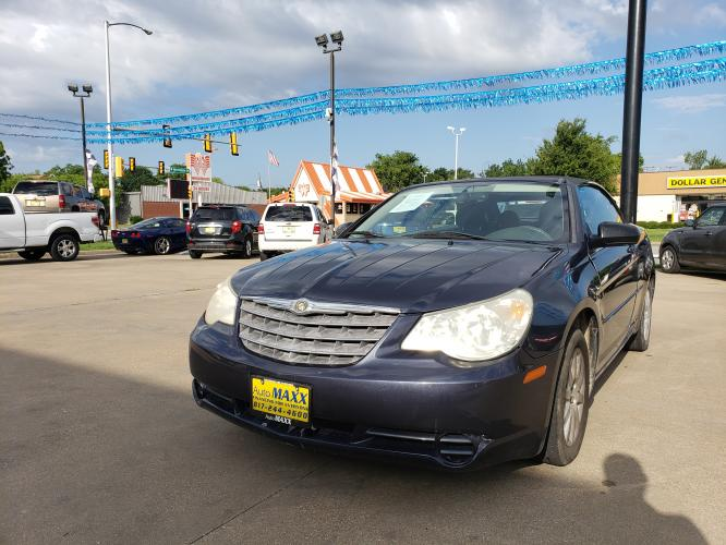 2008 BLUE CHRYSLER SEBRING (1C3LC45K98N) with an L4, 2.4L engine, located at 5605 Crowley Road, Fort Worth, TX, 76134, (817) 989-9255, 36.148457, -115.048225 - Photo #0