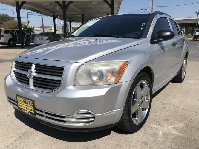 2008 SILVER DODGE CALIBER (1B3HB28B08D) with an L4, 2.0L engine, located at 5605 Crowley Road, Fort Worth, TX, 76134, (817) 989-9255, 36.148457, -115.048225 - Photo #0