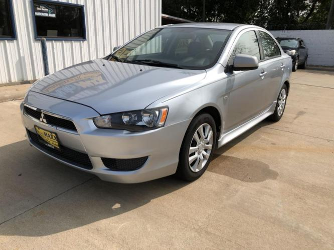 2014 SILVER MITSUBISHI LANCER (JA32U2FU6EU) with an L4, 2.0L; DOHC 16V engine, located at 5605 Crowley Road, Fort Worth, TX, 76134, (817) 989-9255, 36.148457, -115.048225 - Photo #0