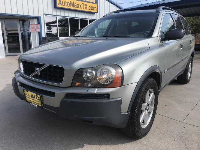 2006 SILVER VOLVO XC90 (YV4CZ592861) with an L5, 2.5L; TURBO engine, located at 5605 Crowley Road, Fort Worth, TX, 76134, (817) 989-9255, 36.148457, -115.048225 - Photo #0