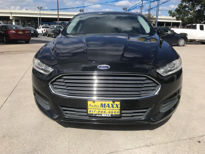 2014 BLACK FORD FUSION (3FA6P0H72ER) with an L4, 2.5L engine, located at 5605 Crowley Road, Fort Worth, TX, 76134, (817) 989-9255, 36.148457, -115.048225 - Photo #1
