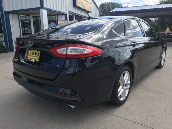 2014 BLACK FORD FUSION (3FA6P0H72ER) with an L4, 2.5L engine, located at 5605 Crowley Road, Fort Worth, TX, 76134, (817) 989-9255, 36.148457, -115.048225 - Photo #3