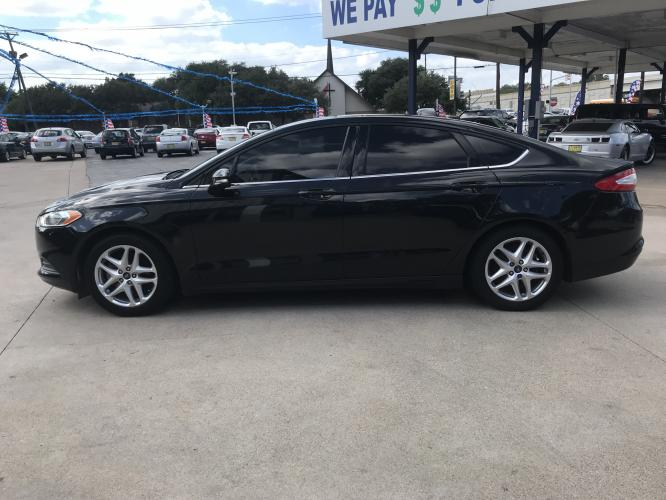 2014 BLACK FORD FUSION (3FA6P0H72ER) with an L4, 2.5L engine, located at 5605 Crowley Road, Fort Worth, TX, 76134, (817) 989-9255, 36.148457, -115.048225 - Photo #6