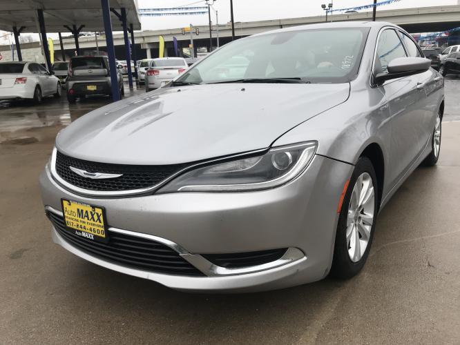 2015 GUN METAL CHRYSLER 200 (1C3CCCAB6FN) with an L4, 2.4L engine, located at 5605 Crowley Road, Fort Worth, TX, 76134, (817) 989-9255, 36.148457, -115.048225 - Photo #0