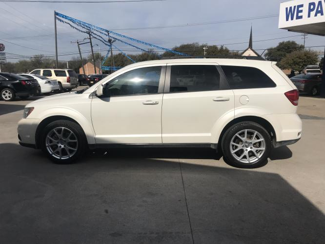 2013 WHITE DODGE JOURNEY (3C4PDCBG6DT) with an V6, 3.6L; FFV; DOHC engine, located at 5605 Crowley Road, Fort Worth, TX, 76134, (817) 989-9255, 36.148457, -115.048225 - Photo #6