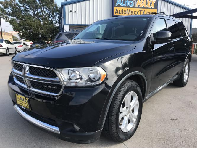 2011 GRAY DODGE DURANGO (1D4RD4GG2BC) with an V6, 3.6L; FFV engine, located at 5605 Crowley Road, Fort Worth, TX, 76134, (817) 989-9255, 36.148457, -115.048225 - Photo #0