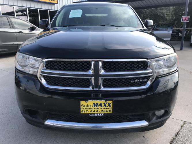 2011 GRAY DODGE DURANGO (1D4RD4GG2BC) with an V6, 3.6L; FFV engine, located at 5605 Crowley Road, Fort Worth, TX, 76134, (817) 989-9255, 36.148457, -115.048225 - Photo #1