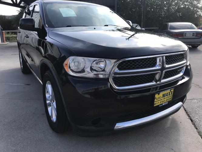 2011 GRAY DODGE DURANGO (1D4RD4GG2BC) with an V6, 3.6L; FFV engine, located at 5605 Crowley Road, Fort Worth, TX, 76134, (817) 989-9255, 36.148457, -115.048225 - Photo #2