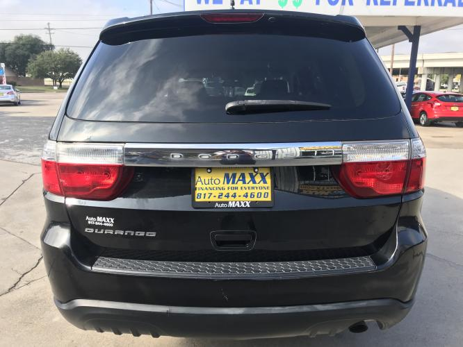2011 GRAY DODGE DURANGO (1D4RD4GG2BC) with an V6, 3.6L; FFV engine, located at 5605 Crowley Road, Fort Worth, TX, 76134, (817) 989-9255, 36.148457, -115.048225 - Photo #4