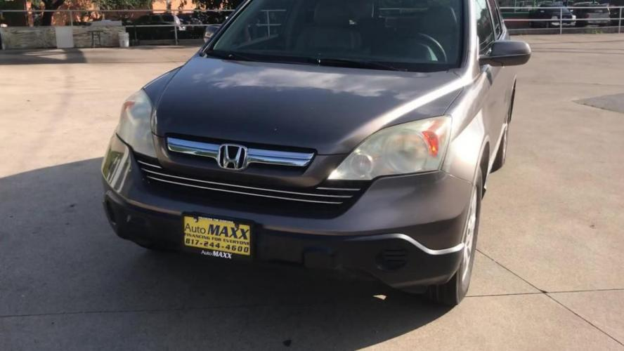 2009 GOLD HONDA CR-V (5J6RE38739L) with an L4, 2.4L engine, 5 SPEED AUTOMATIC transmission, located at 5605 Crowley Road, Fort Worth, TX, 76134, (817) 989-9255, 36.148457, -115.048225 - Photo #4