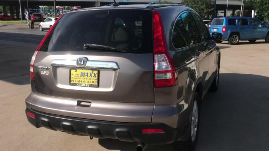 2009 GOLD HONDA CR-V (5J6RE38739L) with an L4, 2.4L engine, 5 SPEED AUTOMATIC transmission, located at 5605 Crowley Road, Fort Worth, TX, 76134, (817) 989-9255, 36.148457, -115.048225 - Photo #8